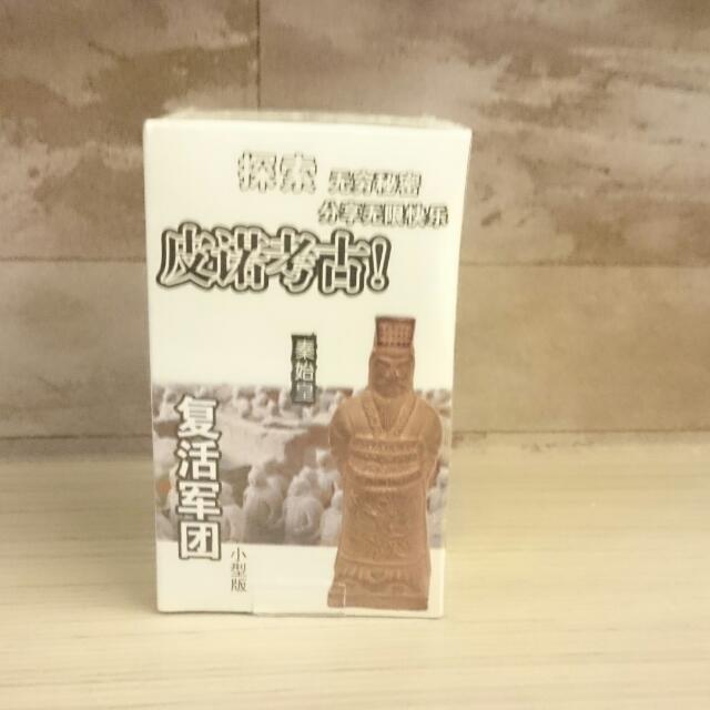 皮諾考古DIY(秦始皇)