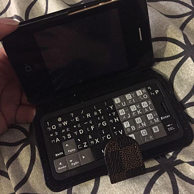 保留中仿ipone4鍵盤式雙卡機