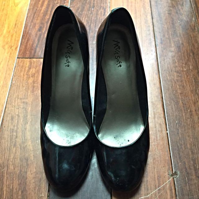 Misssofi  黑色高跟鞋 可議價