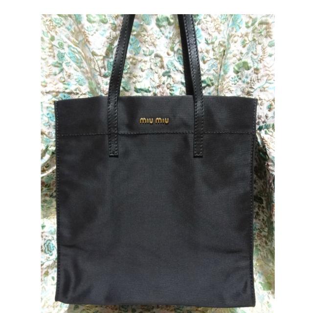 04a00b3264aa Miu Miu by Prada Tessuto Nylon Shopping Tote Bag, Luxury on Carousell