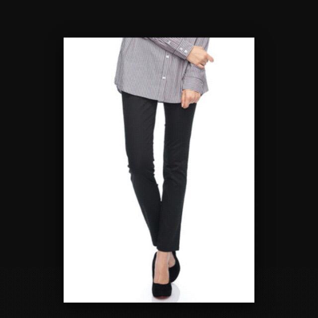 免運費💞NET-修身長褲女款 黑色