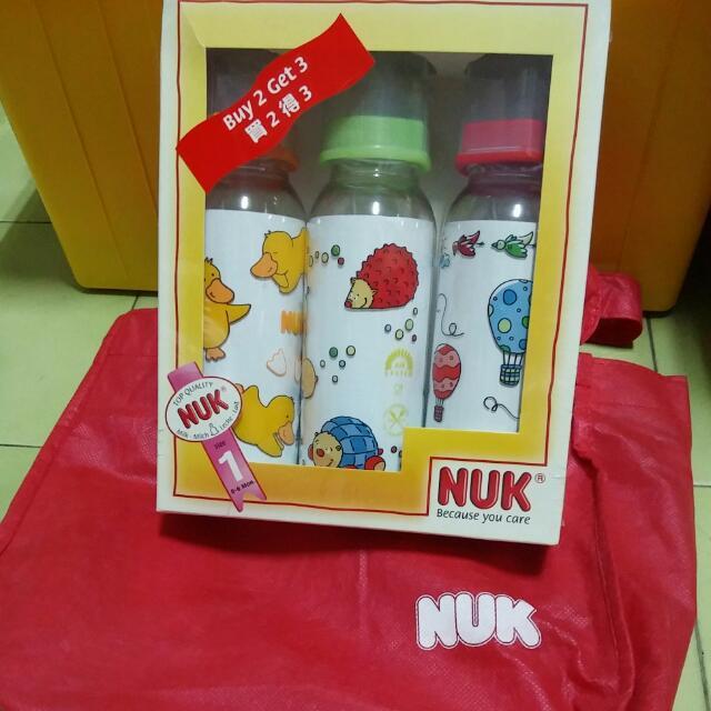 已售出☆NUK☆奶瓶組