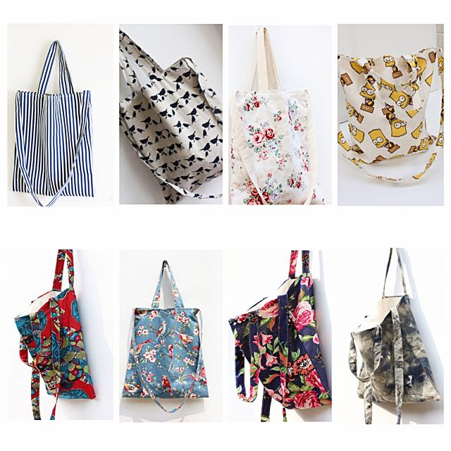[PO] Two Way Tote Bags