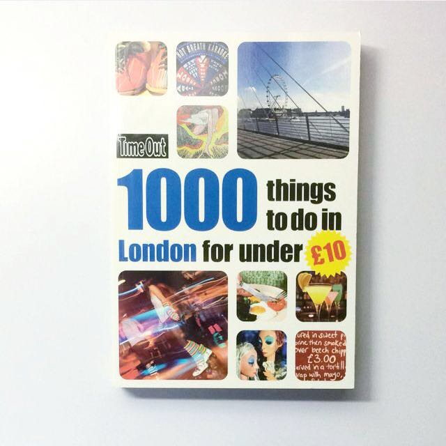 Timeout 1000 Things To Do In London For Under £10 Travel Guide