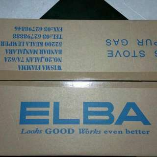 BNIB ELBA Brand Double Gas Stove