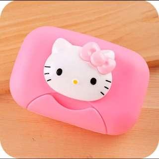 (含運)kitty肥皂盒