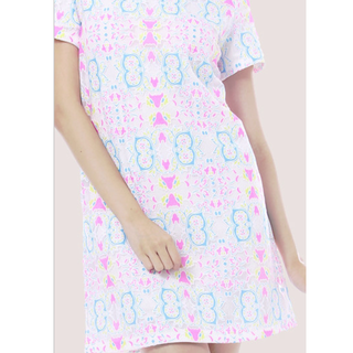 Lamb Label Kaleidoscope Shift Dress (M) (Brand New)