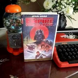 Star Wars Video Tape