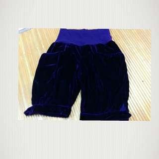 C021紫色短褲