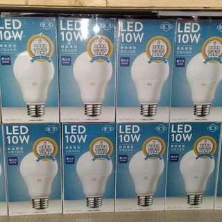 旭光  LED 10W  燈泡  球泡
