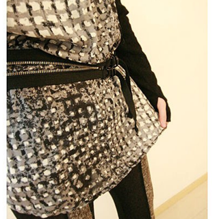 ♫ ~☺ YKK拉鏈腰帶☺設計感獨特