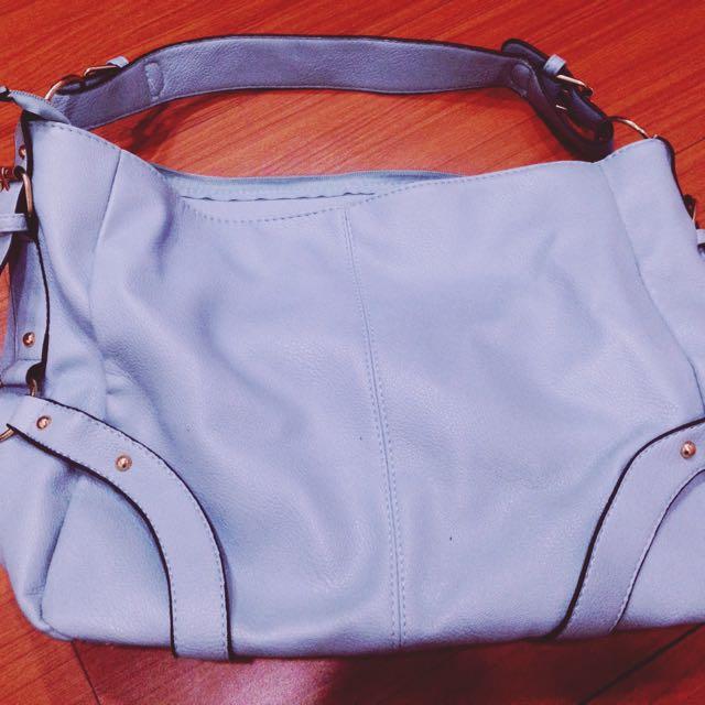 9成新/PG購入水藍色包包