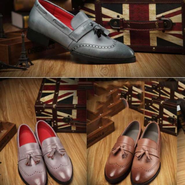 英倫風時尚皮鞋