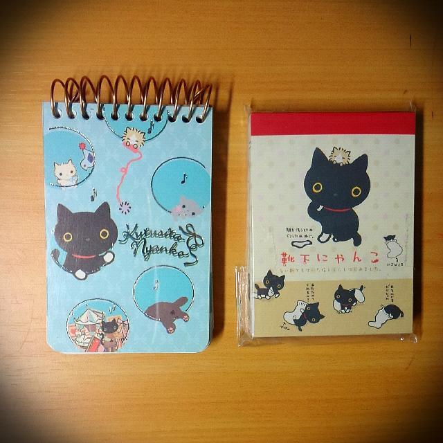 靴下貓貓咪小本子冊子便條紙