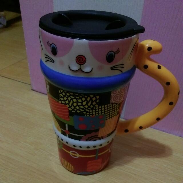 咪咪-玩色彩繪造型杯