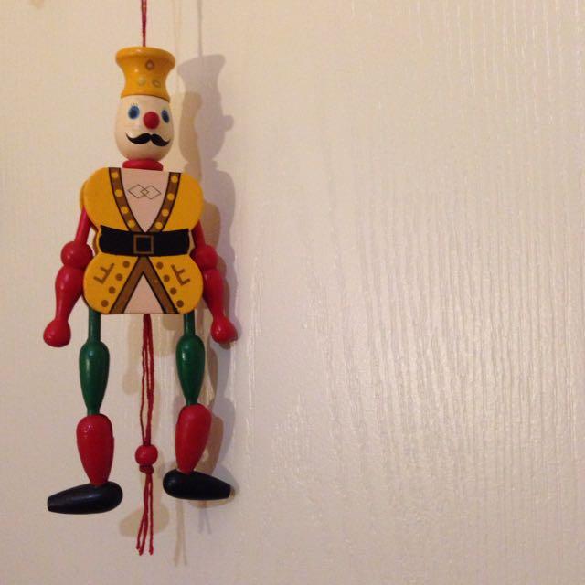 胡桃鉗 士兵 木製玩具 吊飾 聖誕禮物 交換禮物