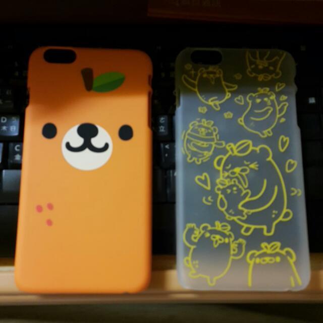 全新橘熊手機殼 iPHone 6 Plus