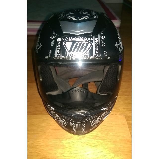 S236骷髏安全帽(全罩)
