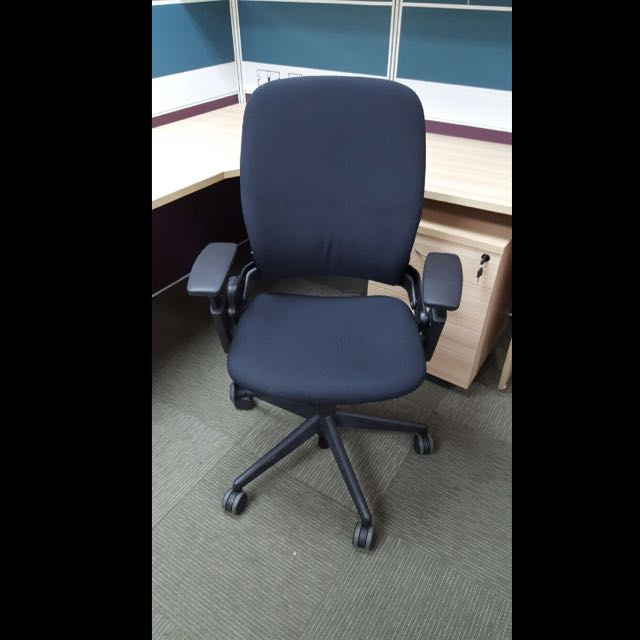 steelcase arms chair used image with leap without