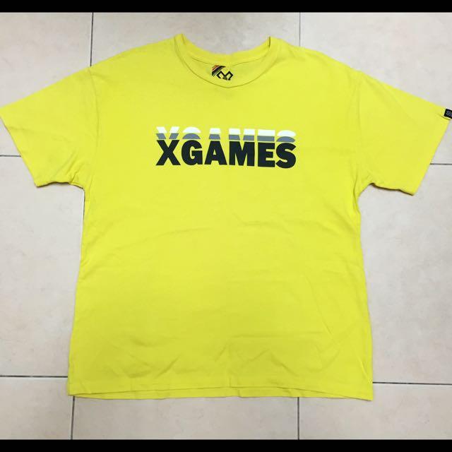 X GAME 滑板Logo T