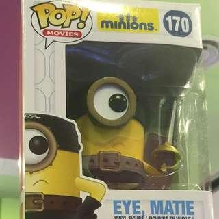 Eye Matie ! Minion Funko POP