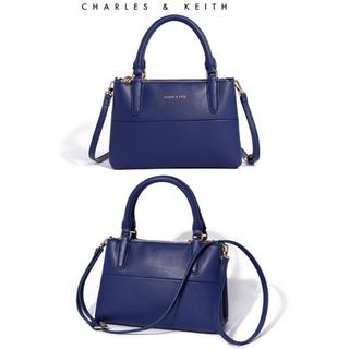 新加坡潮牌:::☛全新Kate Spade藍色小號托特包