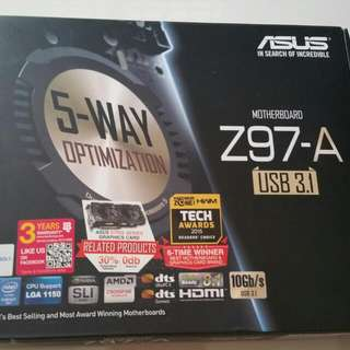 Asus Z97-A/USB 3.1 Motherboard