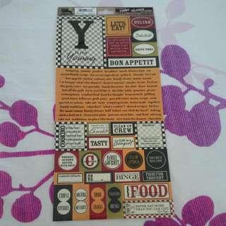 Gypsies Themed Stickers