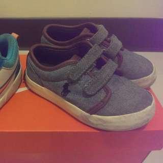二手正品polo童鞋13cm