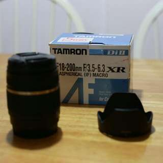 Tamron 18-200mm (Canon Mount)