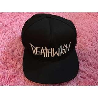 DEATHWISH SNAPBACK 黑色 (九成新)