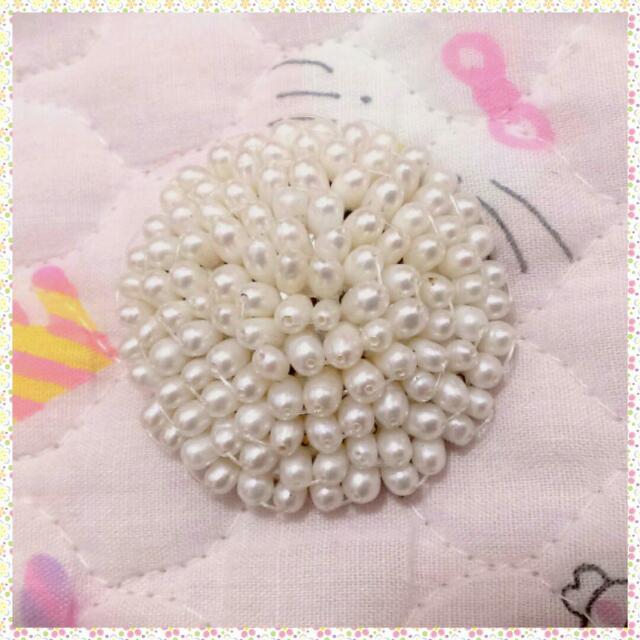 真的珍珠 刺蝟 別針 復古懷舊老件 胸針