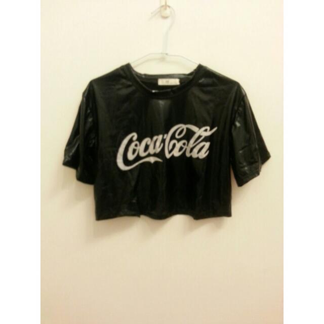 短版 可口可樂 T恤