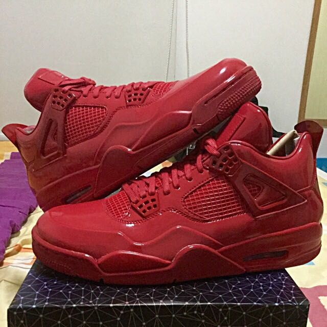 "Jordan 11Lab4 ""University Red"" (Repriced)"