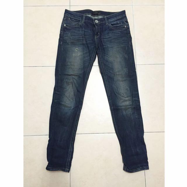 BLUE WAY _ ET Boite牛仔褲