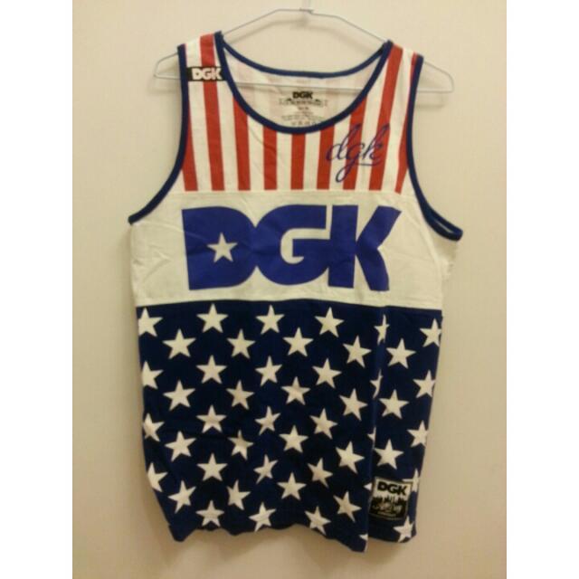 DGK 翻玩 旗幟 長背心 球衣