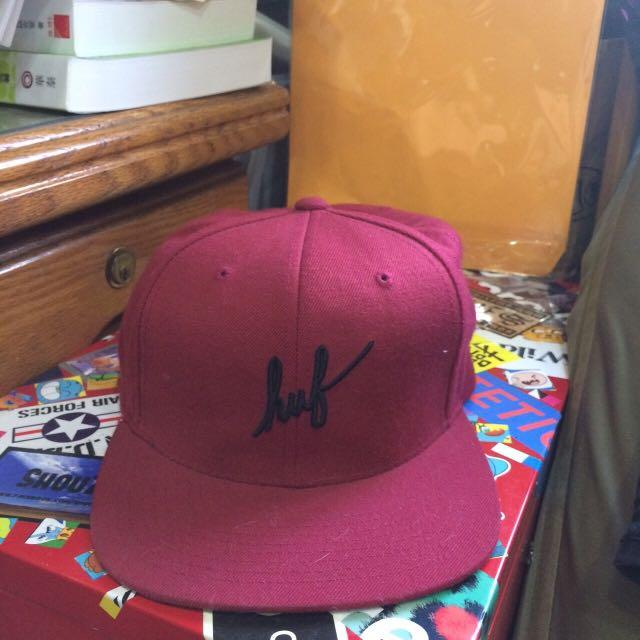 HUF紅帽