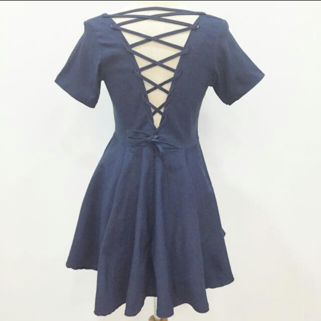 Lace Up Babydoll Dress From Blogshopping
