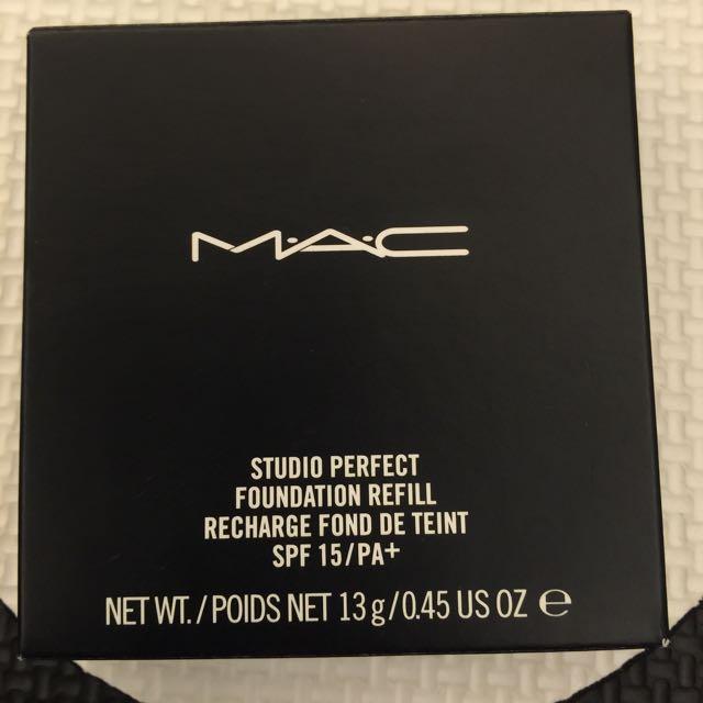 MAC完美潤澤粉餅(全新)