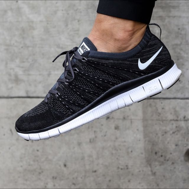 nike free flyknit nsw black singapore flag