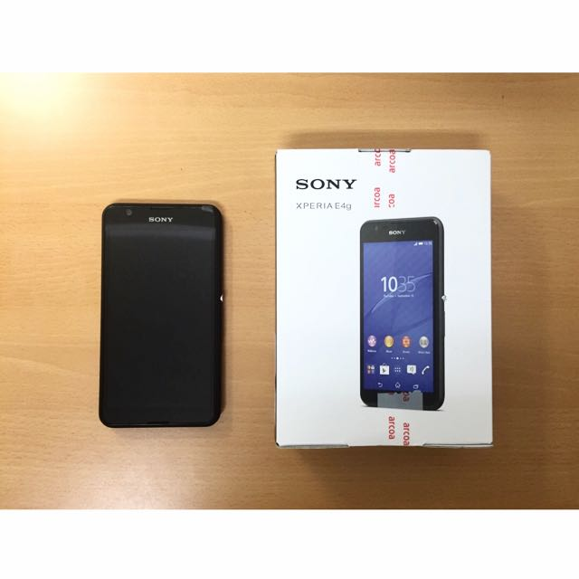 SONY Xperia E4g 黑色手機