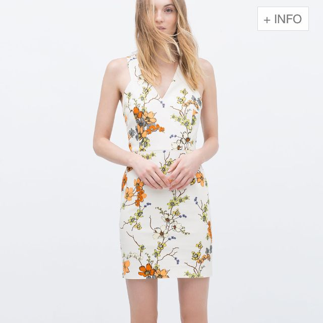 8ba56b3277fe Zara Floral Dress (RESERVED), Luxury on Carousell