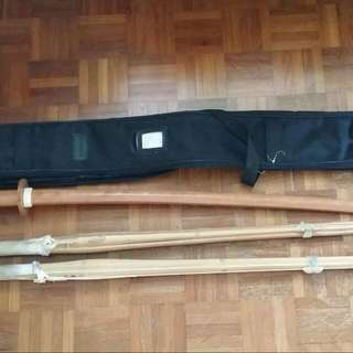 Kendo Shinai And Boken (Second Hand)