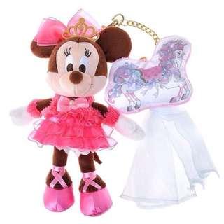(保留中)迪士尼 米妮 娃娃 吊飾 螢幕擦