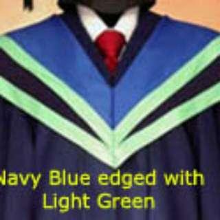 Ntu Convocation Gown- College Of Science, SPMS, SBS, MARITIME