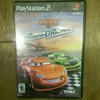 PS2 Cars Race O-rama