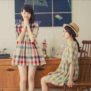 降價 Queen Shop 鄉村風格紋洋裝