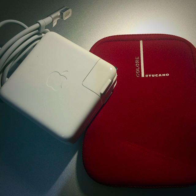 60W MagSafe 蘋果電腦充電器 全新