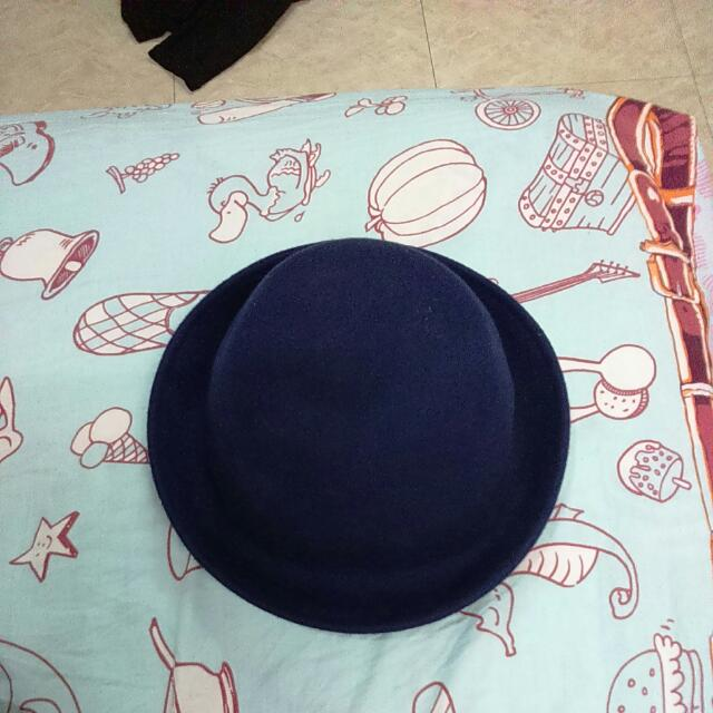 圓帽-深藍色