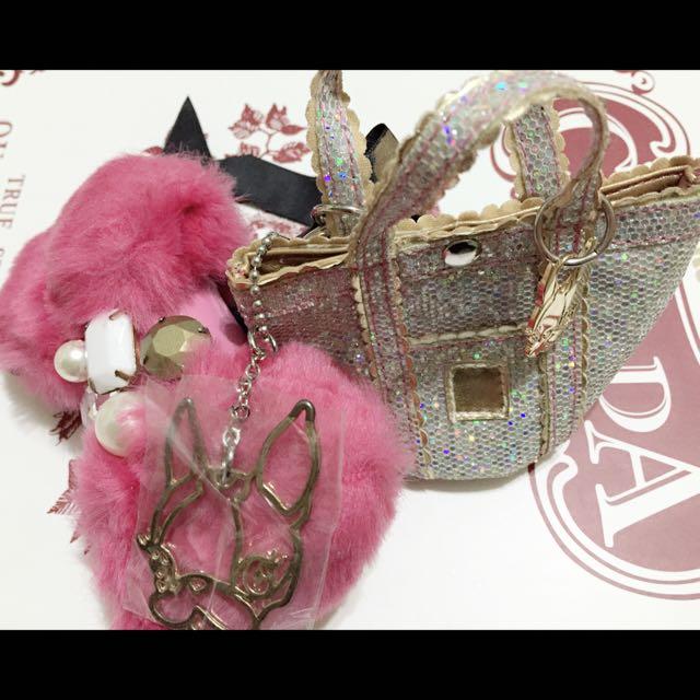 Crystal Ball 吊飾  鑰匙圈